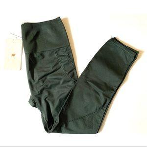 NWT Green Fabletics high-waisted leggings